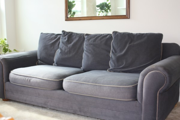 The Sofa That Started It All Twill Slipcover Studio