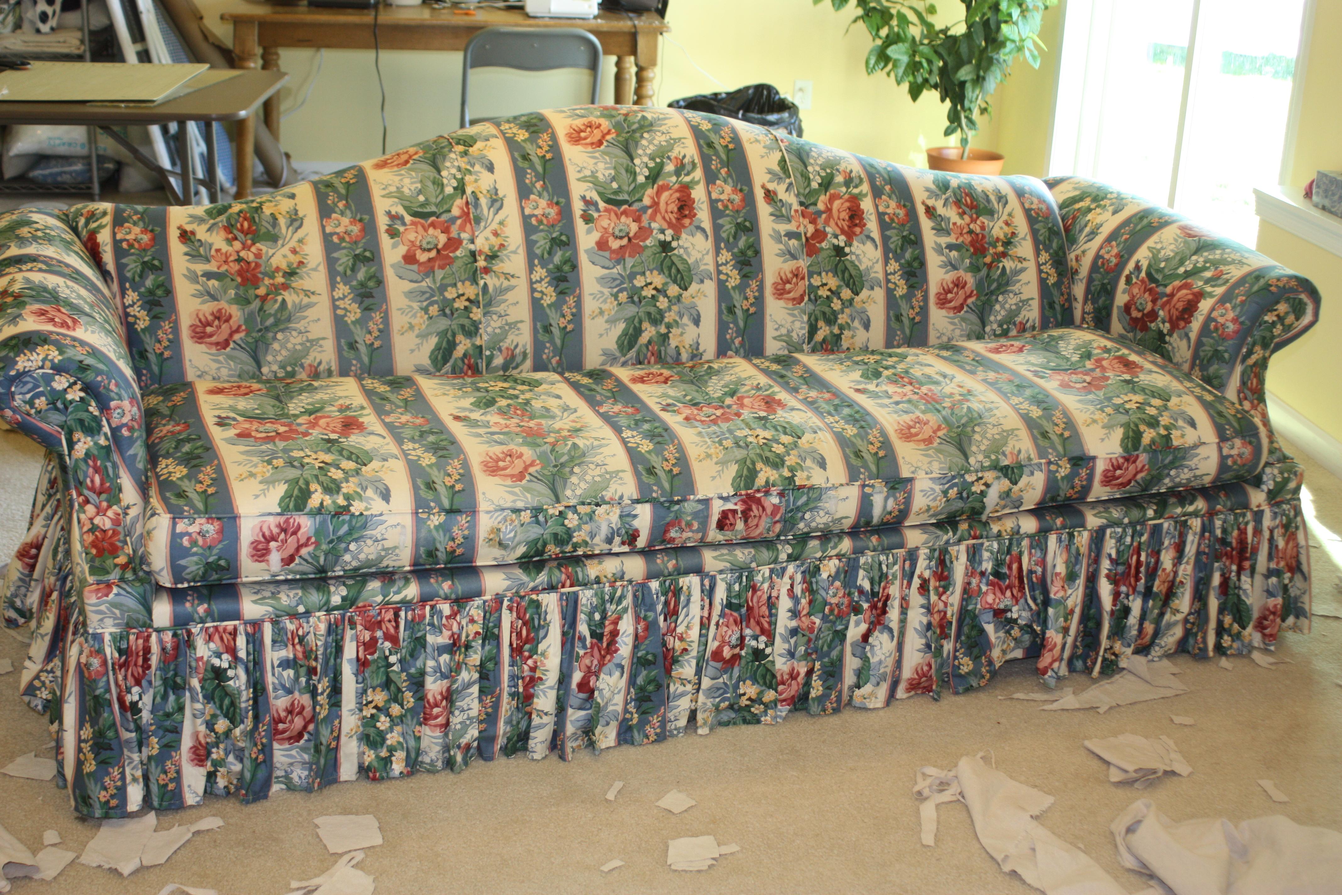 Drop Cloth Sofa